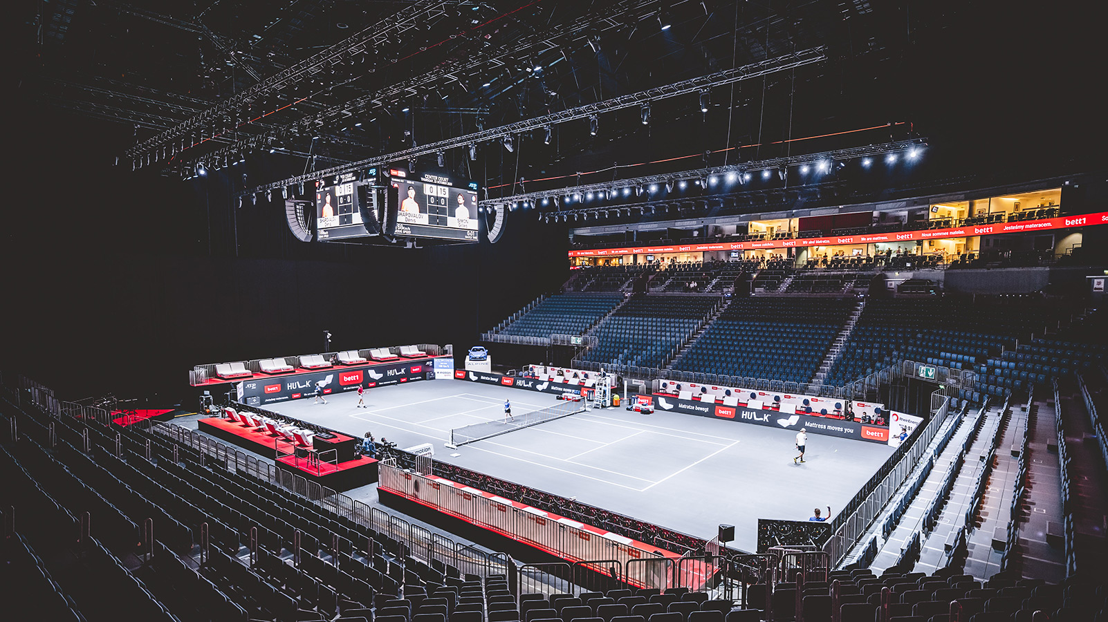 Highlander Wash in Cologne's Lanxess Arena